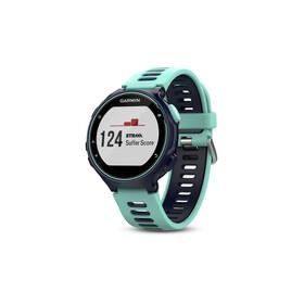 Garmin Forerunner 735XT Laufuhr inkl. Premium HRM-Run Brustgurt frost/blue